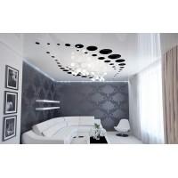 Перфорированный натяжной потолок 1м²