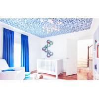 Тканевый натяжной потолок 1м²